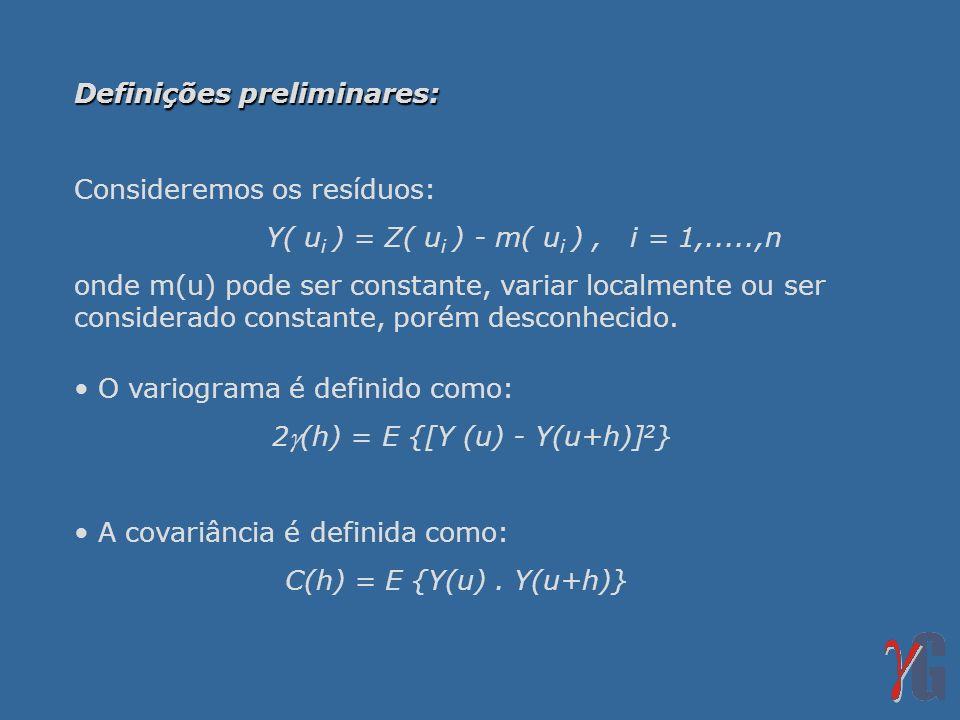 2(h) = E {[Y (u) - Y(u+h)]2}